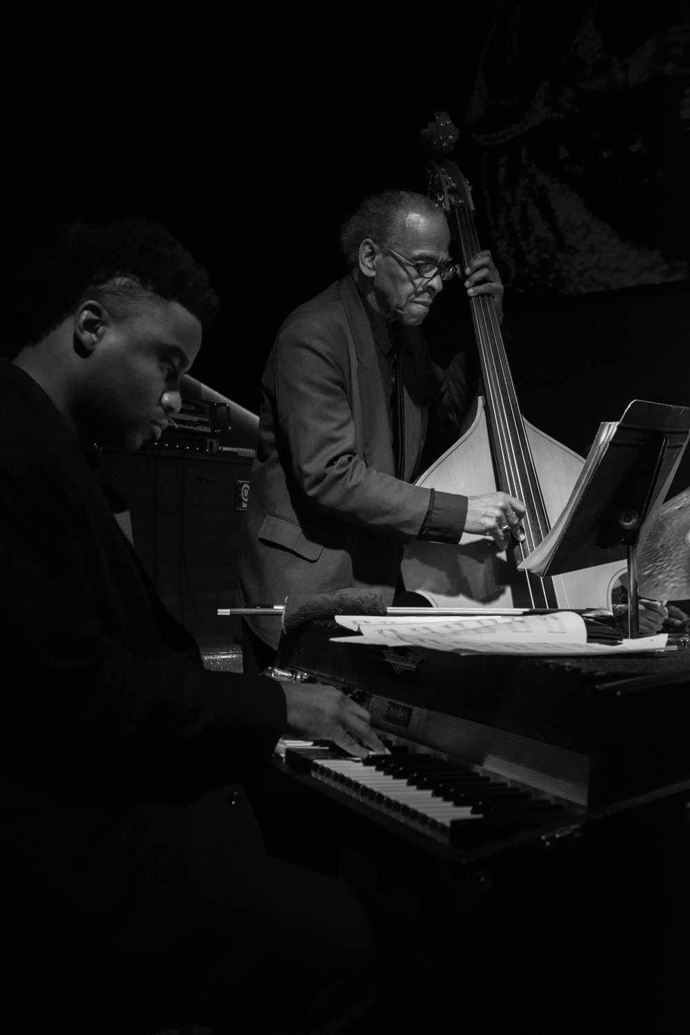 David Bryant and Cecil McBee, 2016