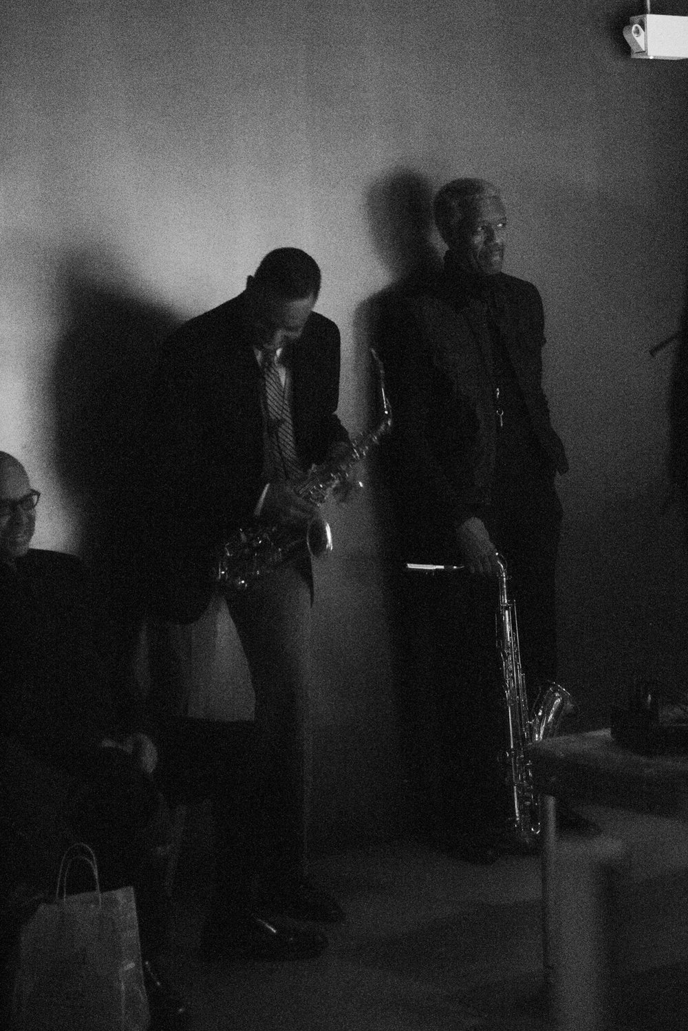 Donald Harrison and Billy Harper, 2016