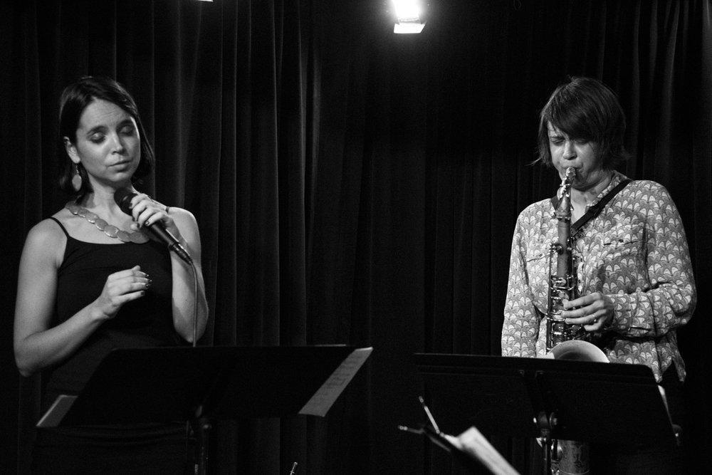 Sara Serpa and Ingrid Laubrock, 2017