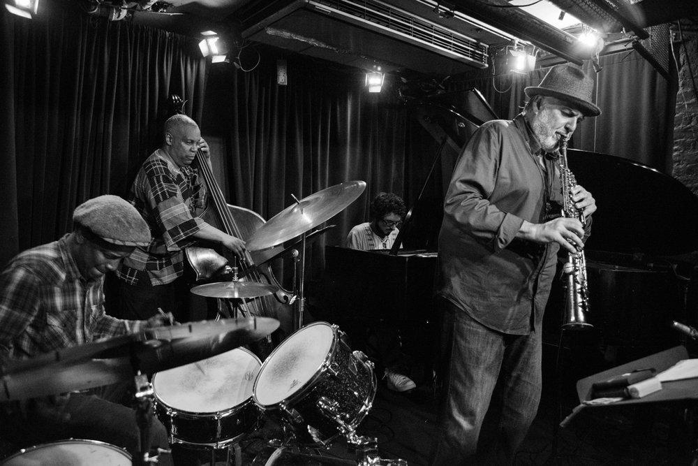 Crash Trio + Tony Malaby, 2017