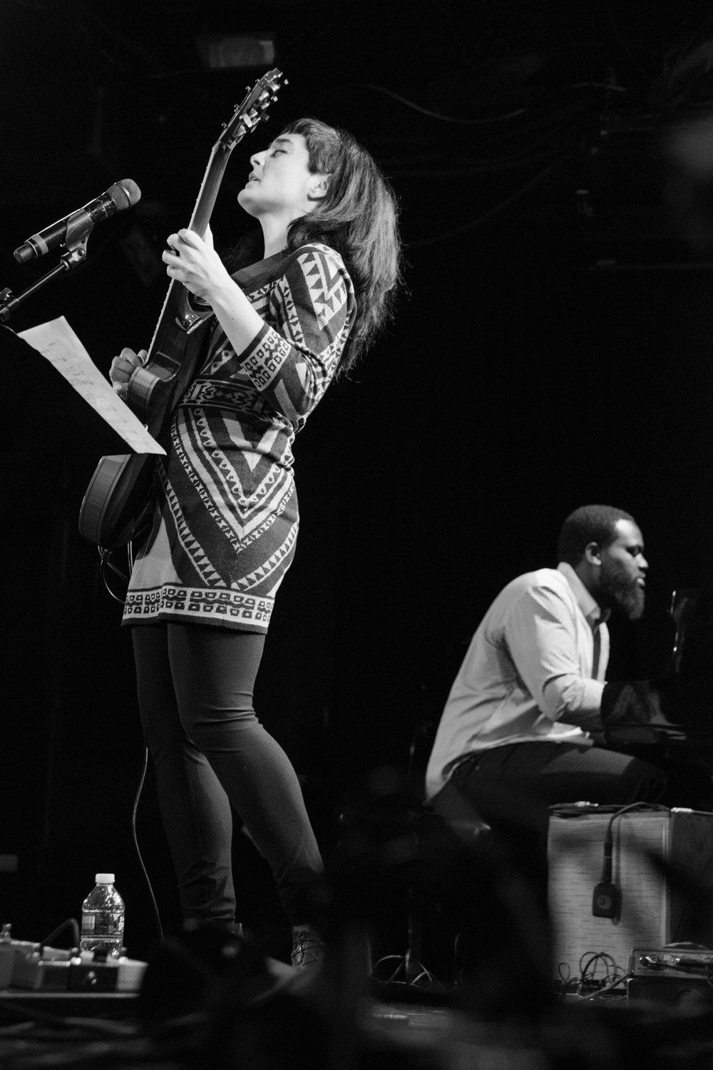 Camila Meza and James Francies, 2017