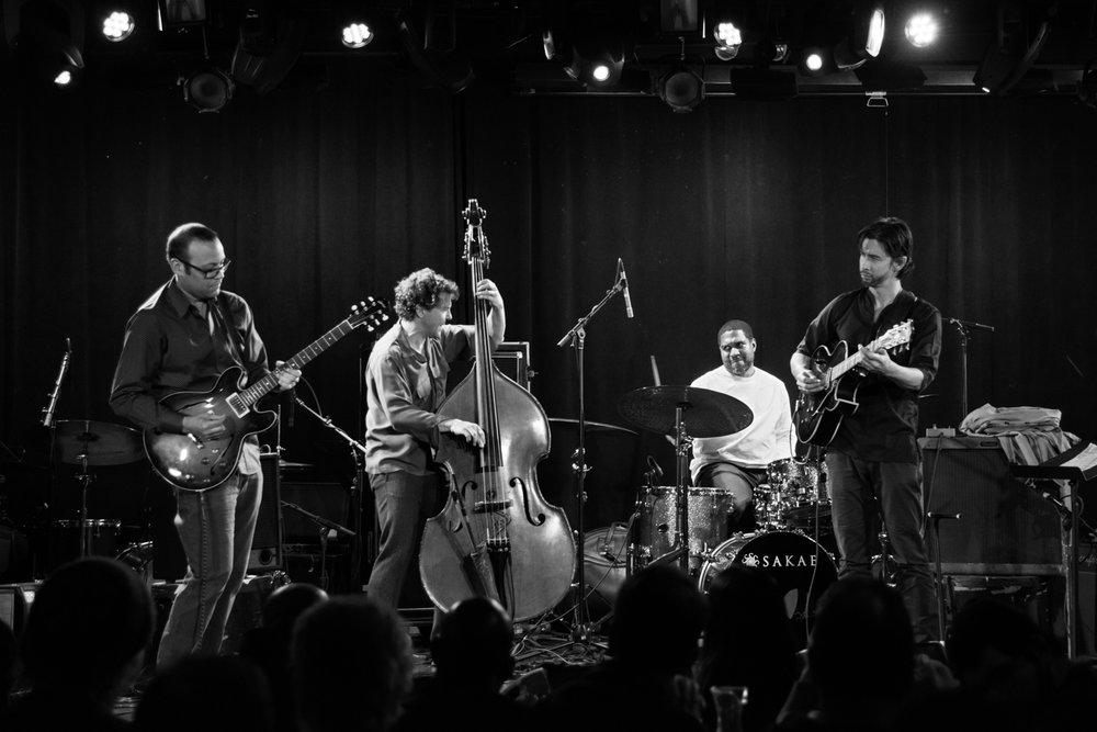Liberty Ellman, Stephan Crump, Damion Reid, Miles Okazaki, 2017