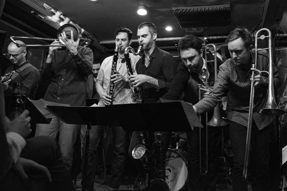 Nick Finzer Sextet Expanded, 2017