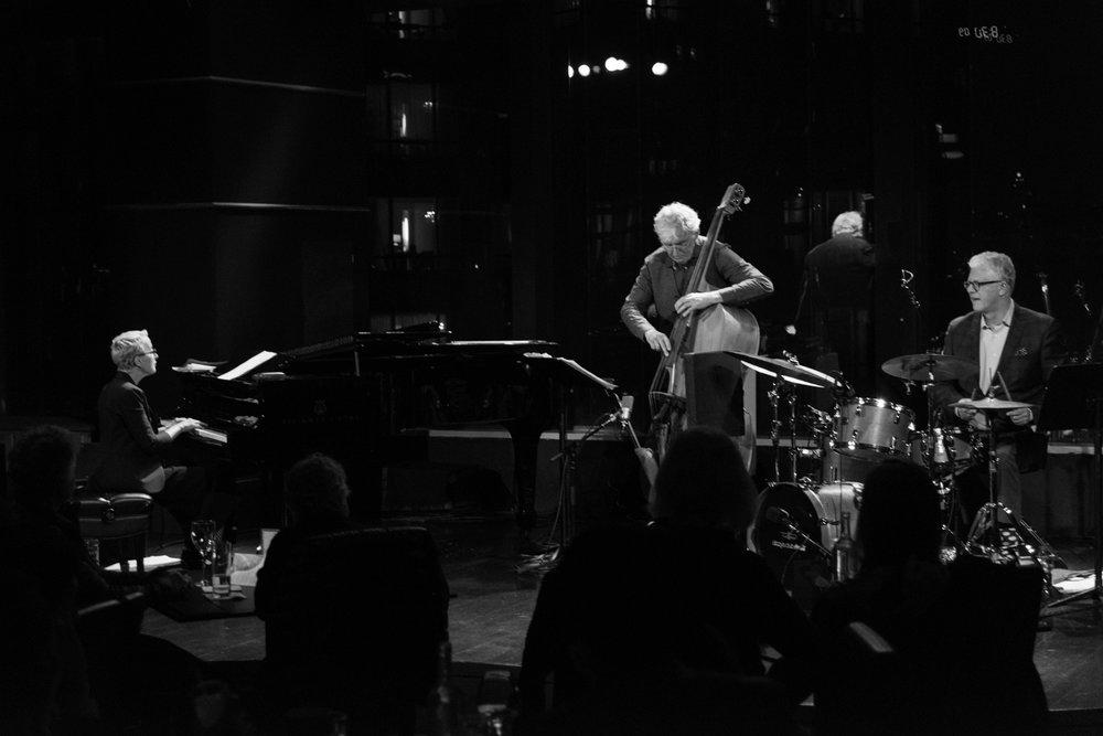 Trio M (Myra Melford, Mark Dresser, Matt Wilson), 2017