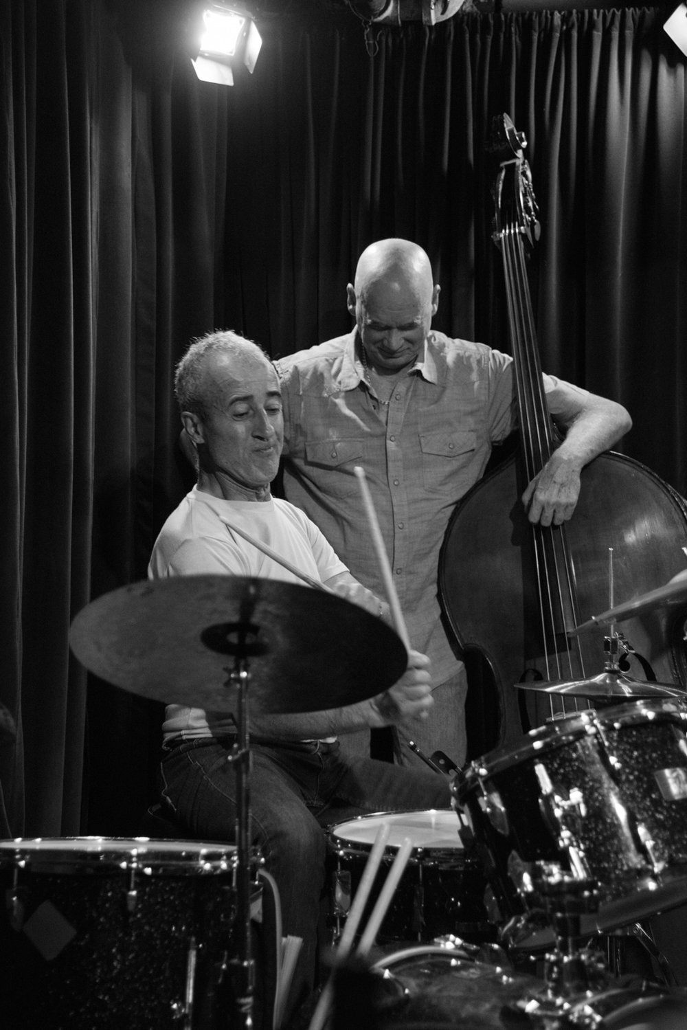 Bobby Previte and Mark Helias, 2017