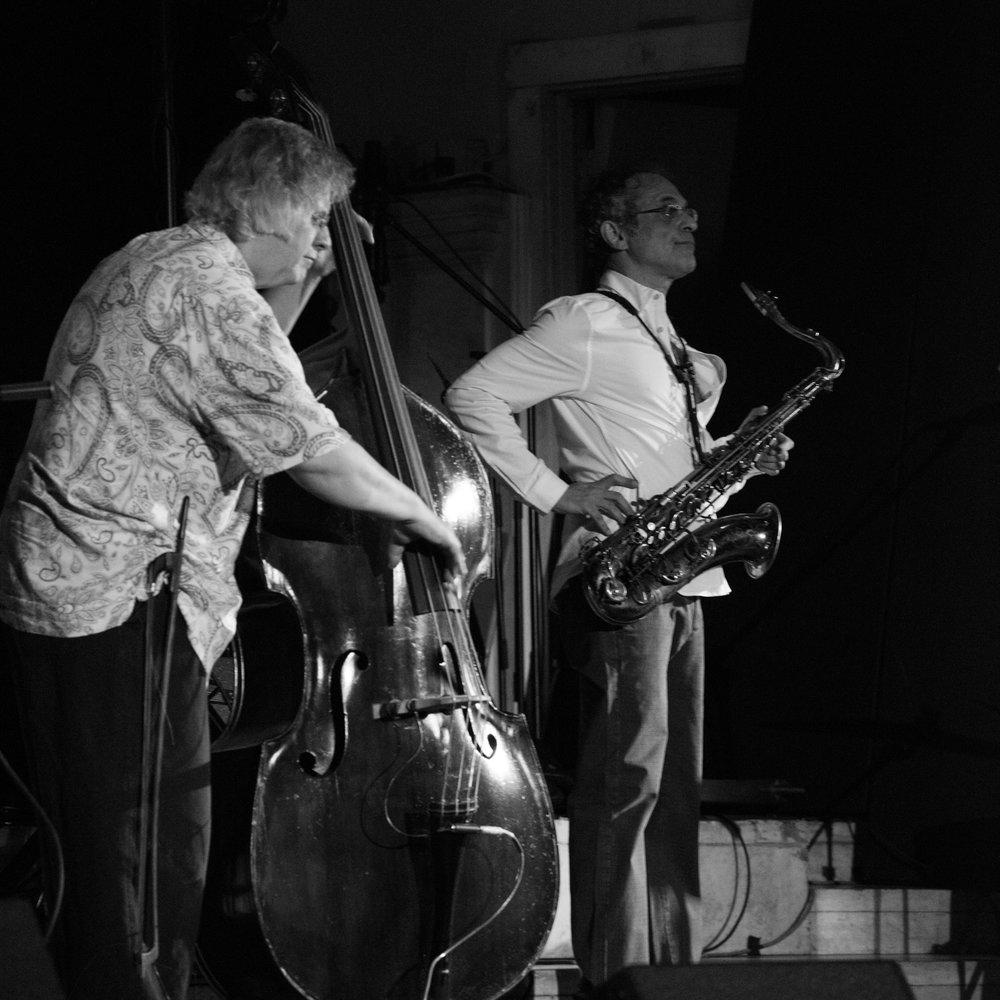 Michael Bisio and Ivo Perelman, 2017