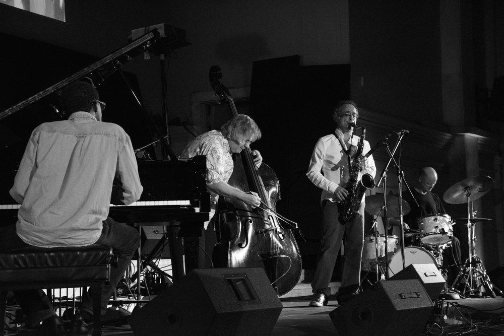 Ivo Perelman Quartet, 2017