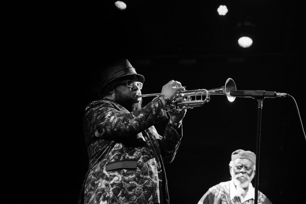 Nicholas Payton and Pharoah Sanders, 2017