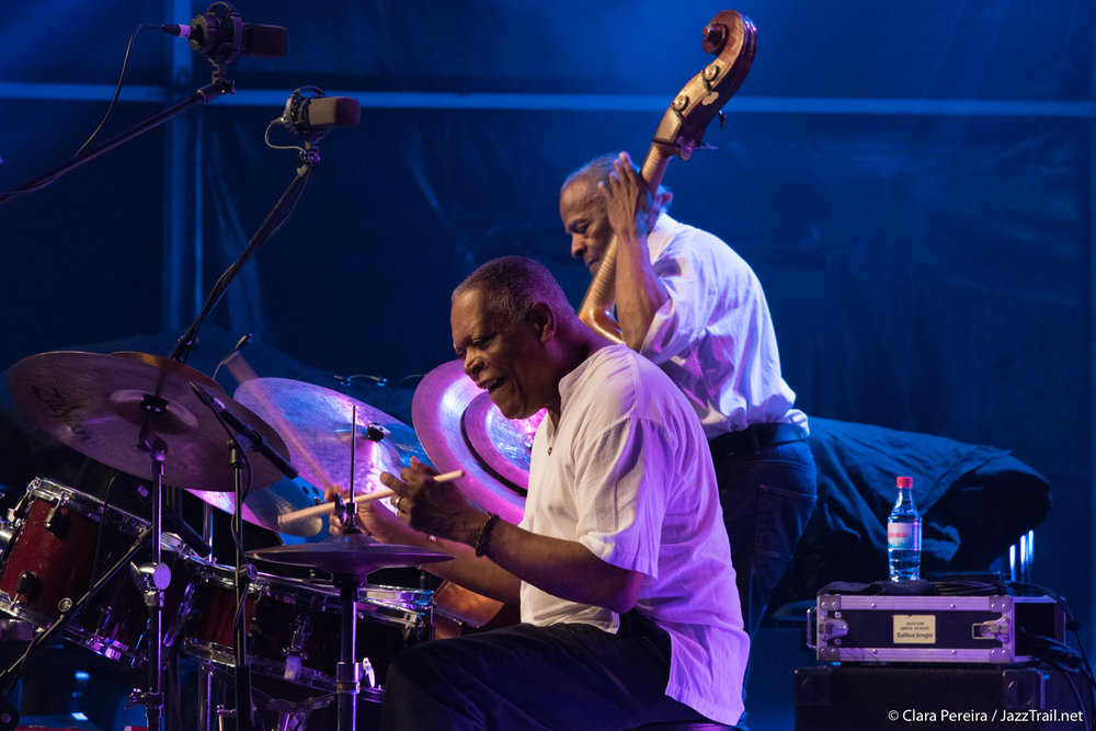 Billy Hart and Cecil McBee, 2017