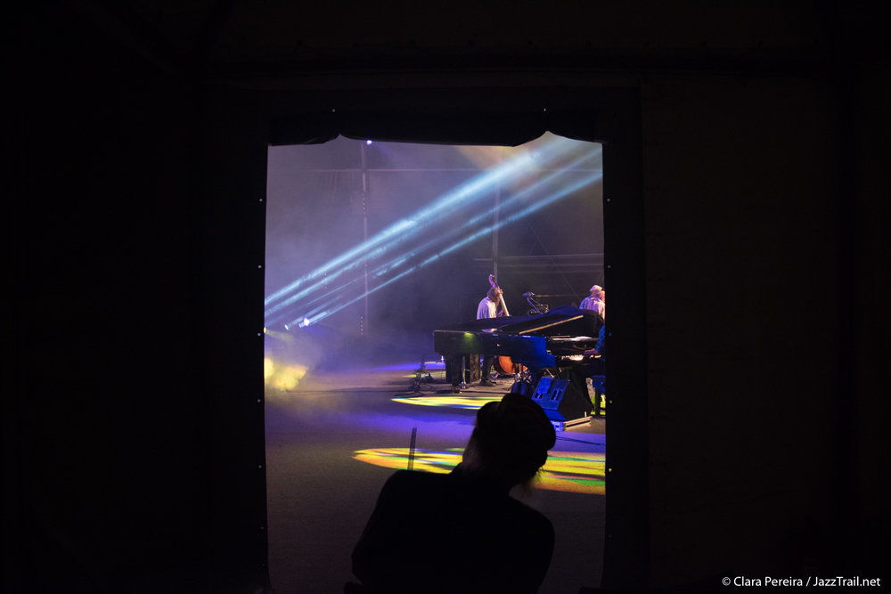 Charles Lloyd attending Saxophone Summit's concert, 2017
