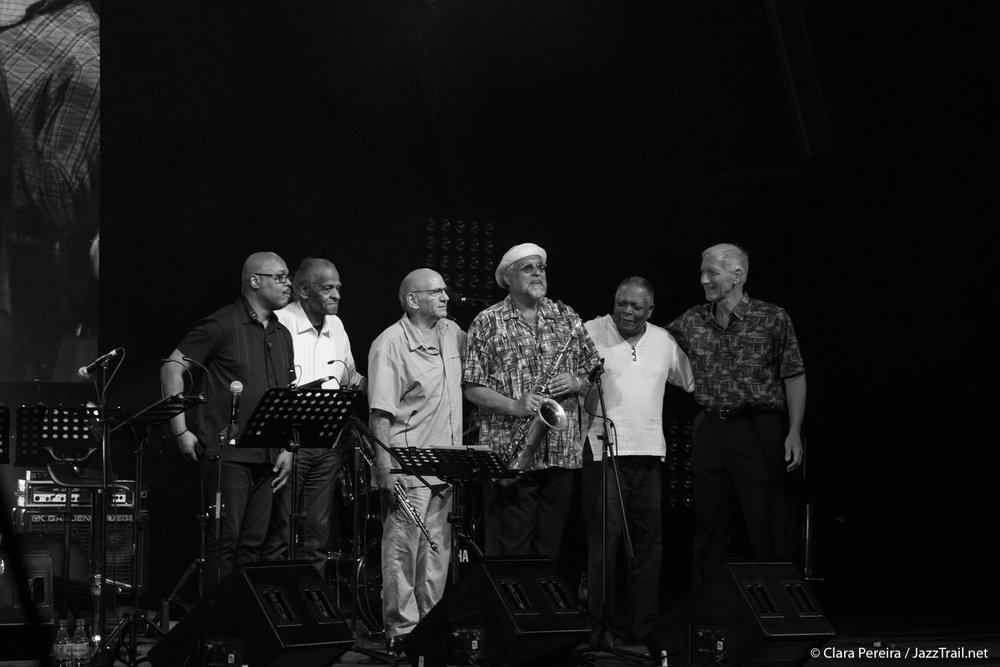 Saxophone Summit: Osby, McBee, Liebman, Lovano, Hart, Markowitz, 2017
