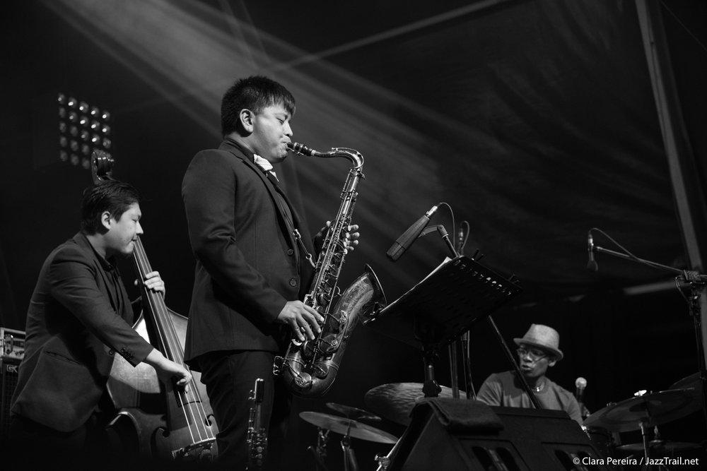 Yasushi Nakamura, Jon Irabagon, Rudy Royston, 2017