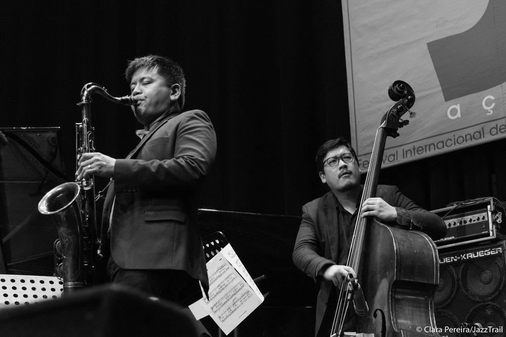 Jon Irabagon and Yasushi Nakamura, 2017