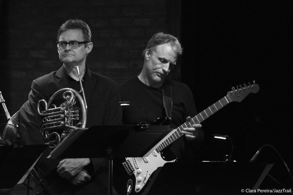 Chris Komer and Brad Shepik, 2018