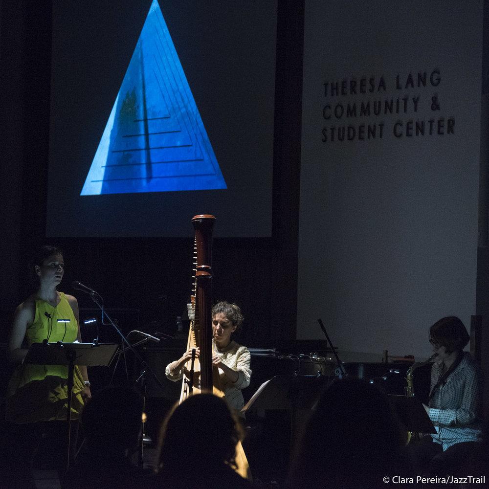Sara Serpa, Zeena Parkins, Ingrid Laubrock, 2018