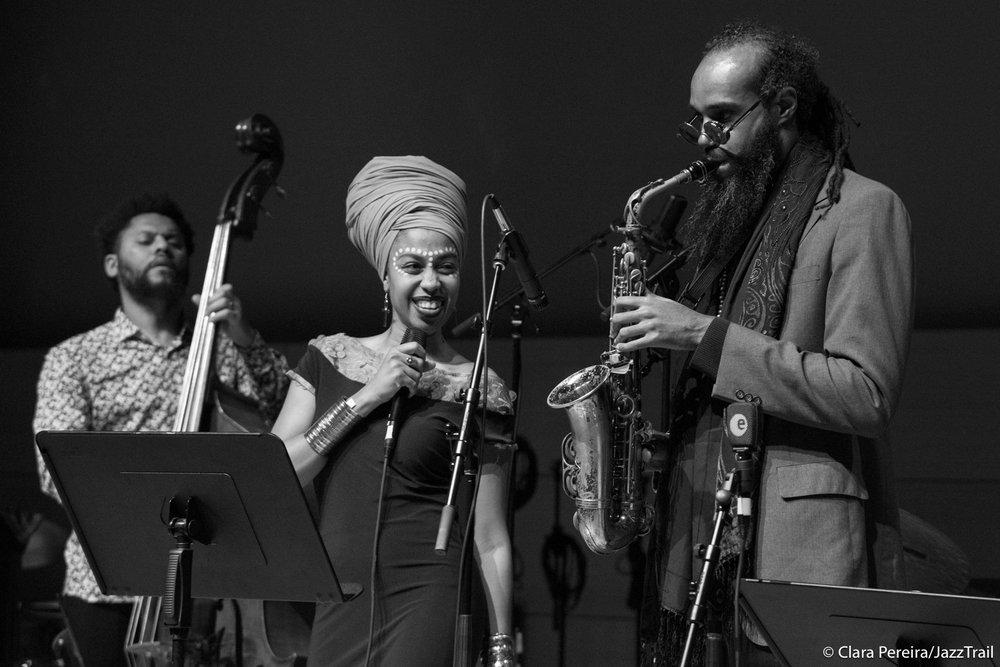 Barry Stephenson, Jazzmeai Horn, Marcus Miller, 2018