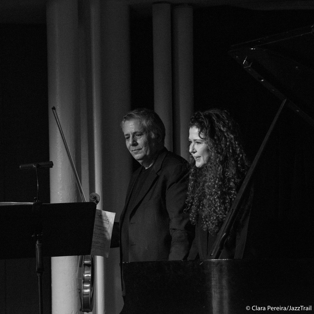 Mark Feldman and Sylvie Courvoisier, 2018