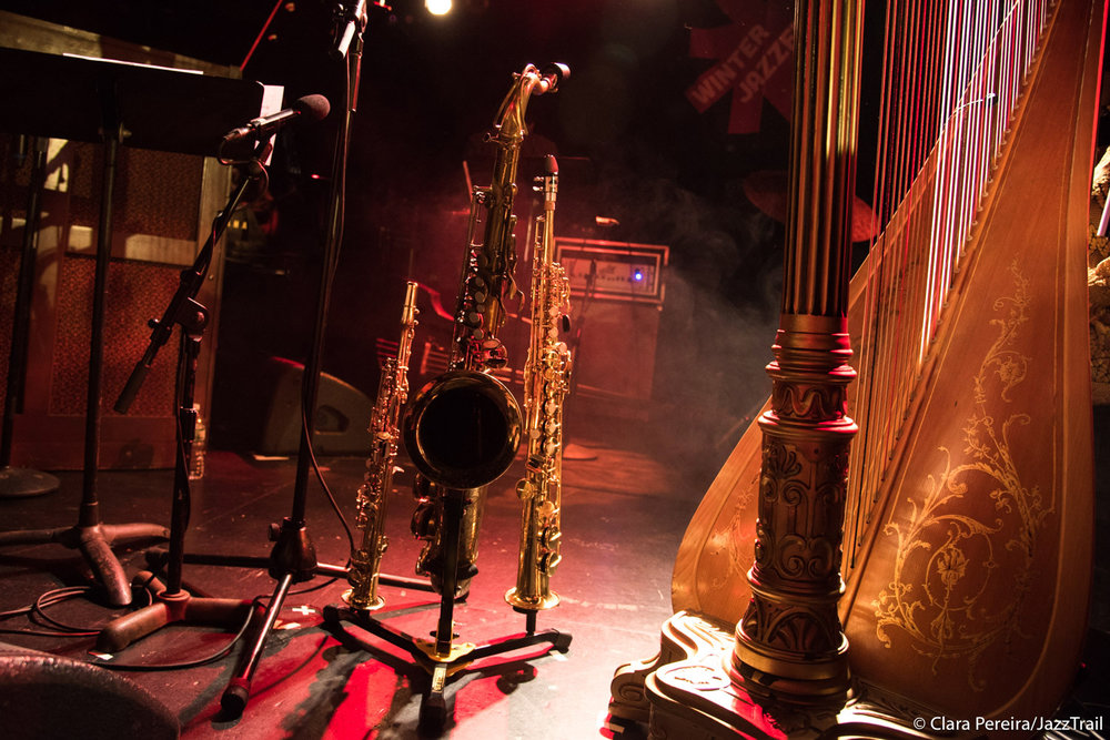 Ravi Coltrane's saxophones, 2018