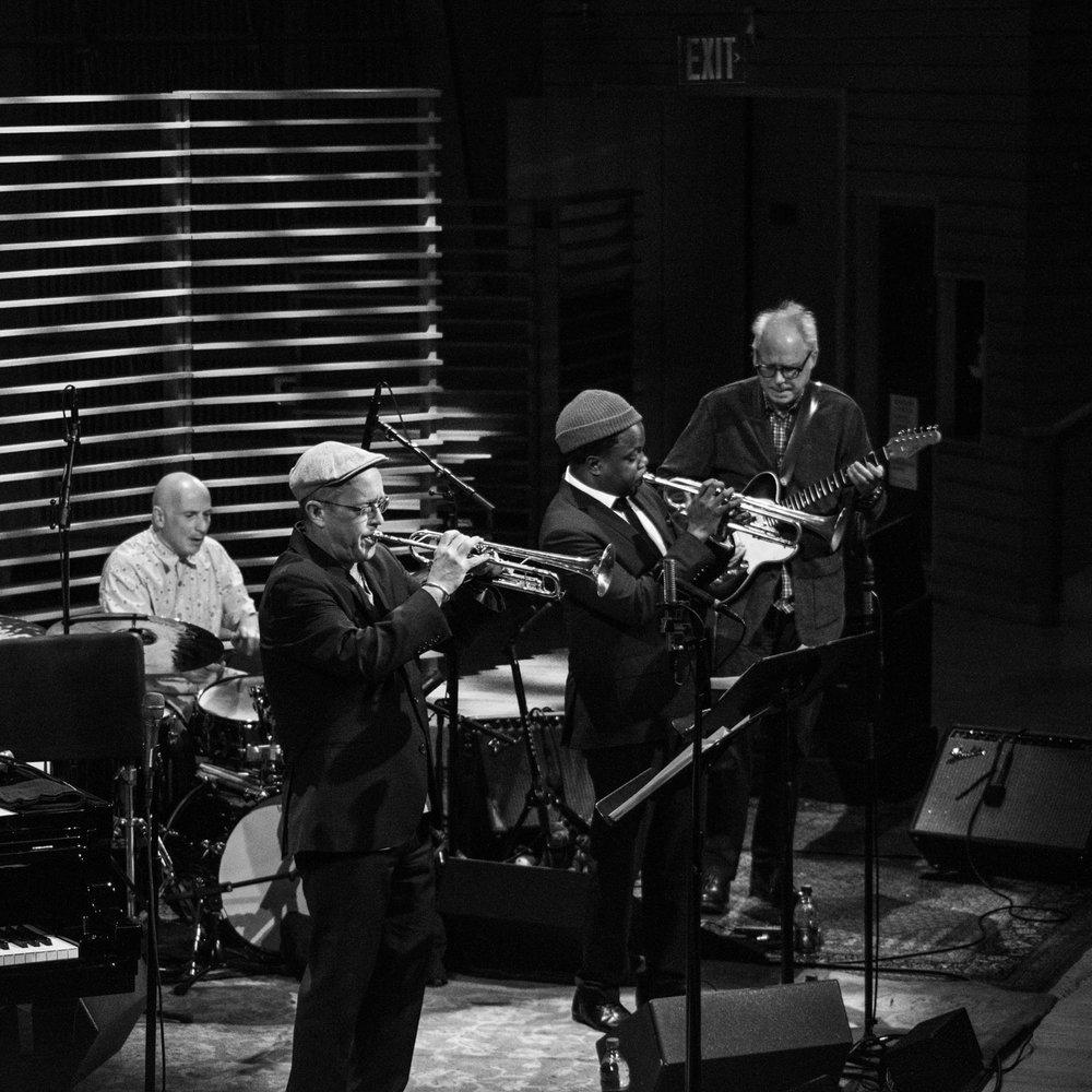 Joey Baron, Dave Douglas, Ambrose Akinmusire, Bill Frisell, 2018