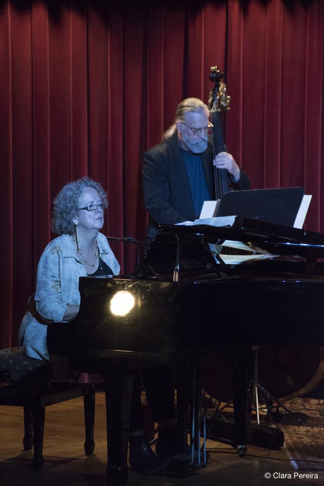 Cynthia Hilts and Ratzo Harris, 2018