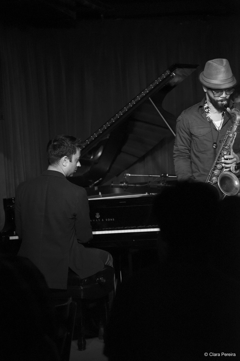 Vijay Iyer and Mark Shim, 2018