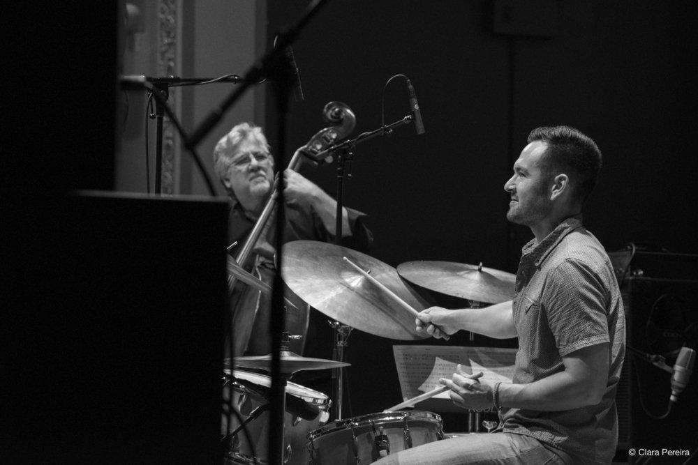 Michael Formanek and Tomas Fujiwara, 2018