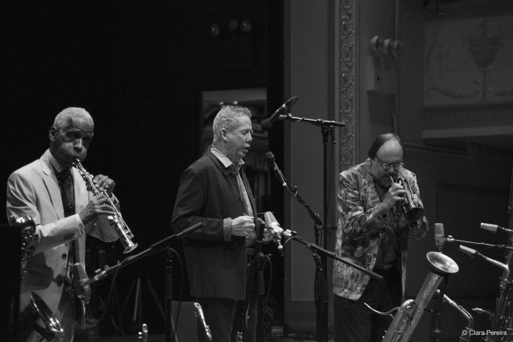 Roscoe Mitchell, Thomas Buckner, Scott Robinson, 2018