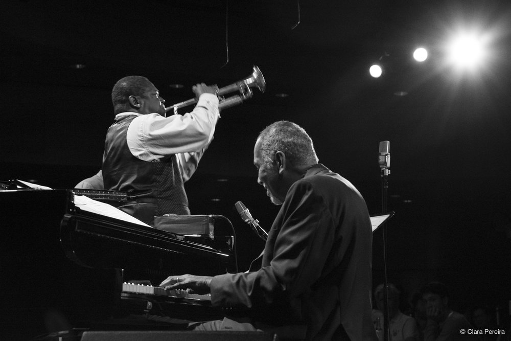 Freddie Hendrix and Stanley Cowell, 2018