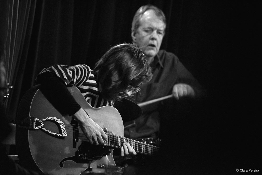 Tom Rainey and Mary Halvorson, 2018