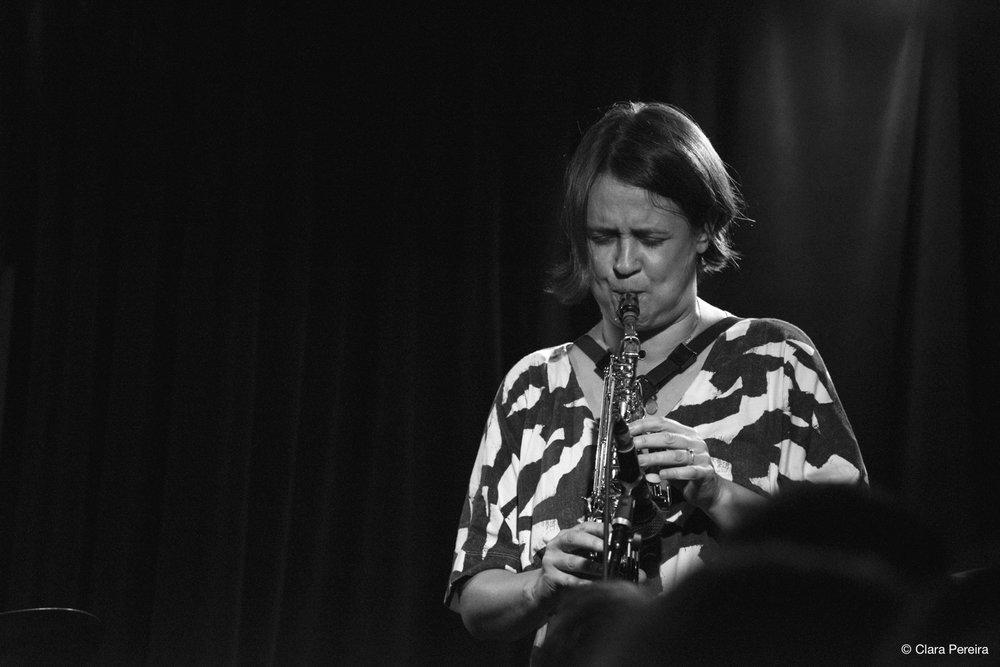 Ingrid Laubrock, 2018