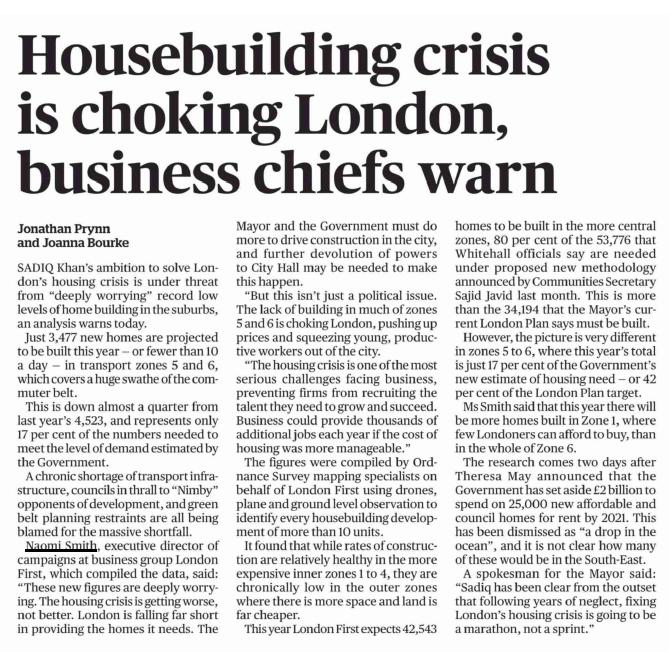 Evening Standard, 9/10/17