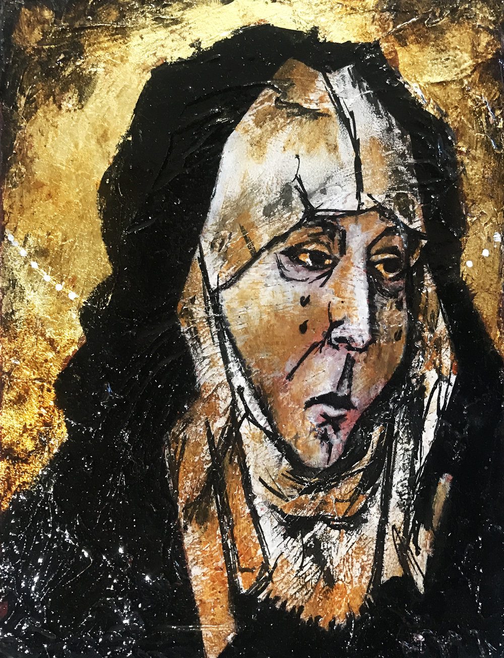 Sorrowing Virgin