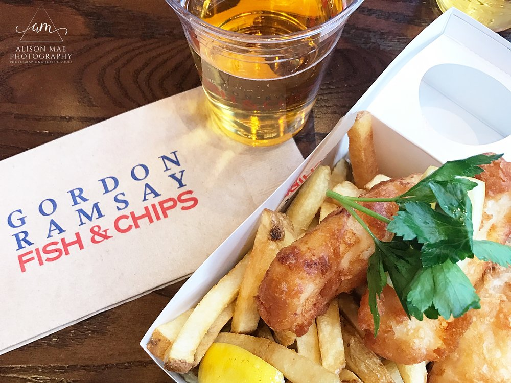 Explore Las Vegas | Gordon Ramsay Fish and Chips