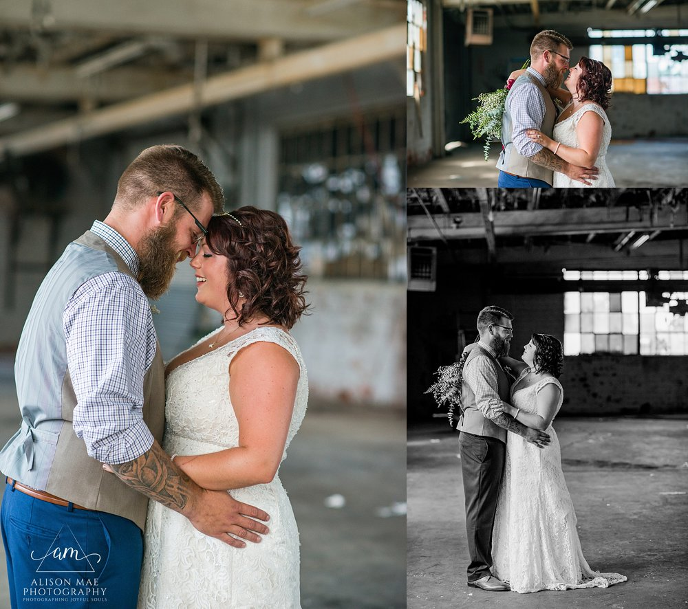 Muncie, Indiana Wedding Photography Vulture Culture at the Factory