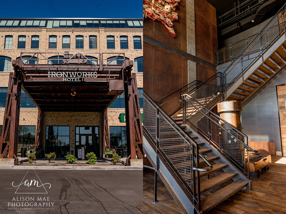 Ironworks Hotel Indianapolis, Indiana Wedding Photographer