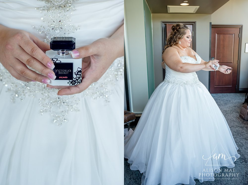 Ironworks Hotel Indianapolis, Indiana Wedding Photographer - Victoria Secret Perfume