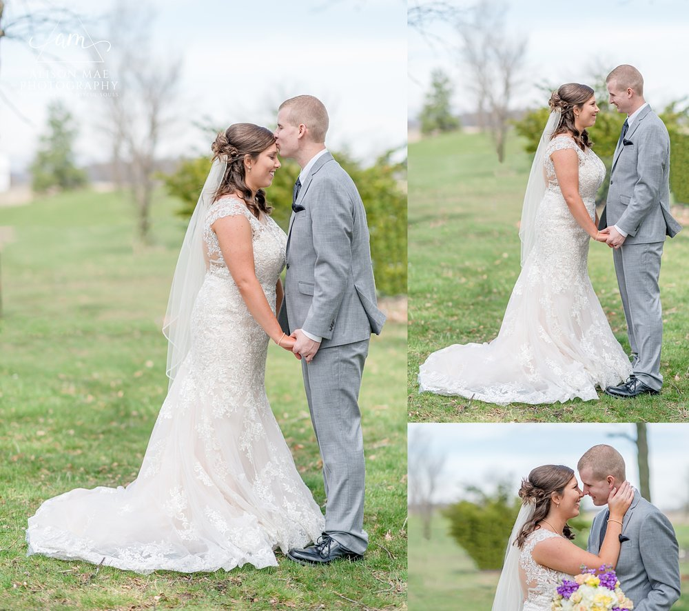 Spring wedding - Indiana wedding photographer Alison Mae Photography