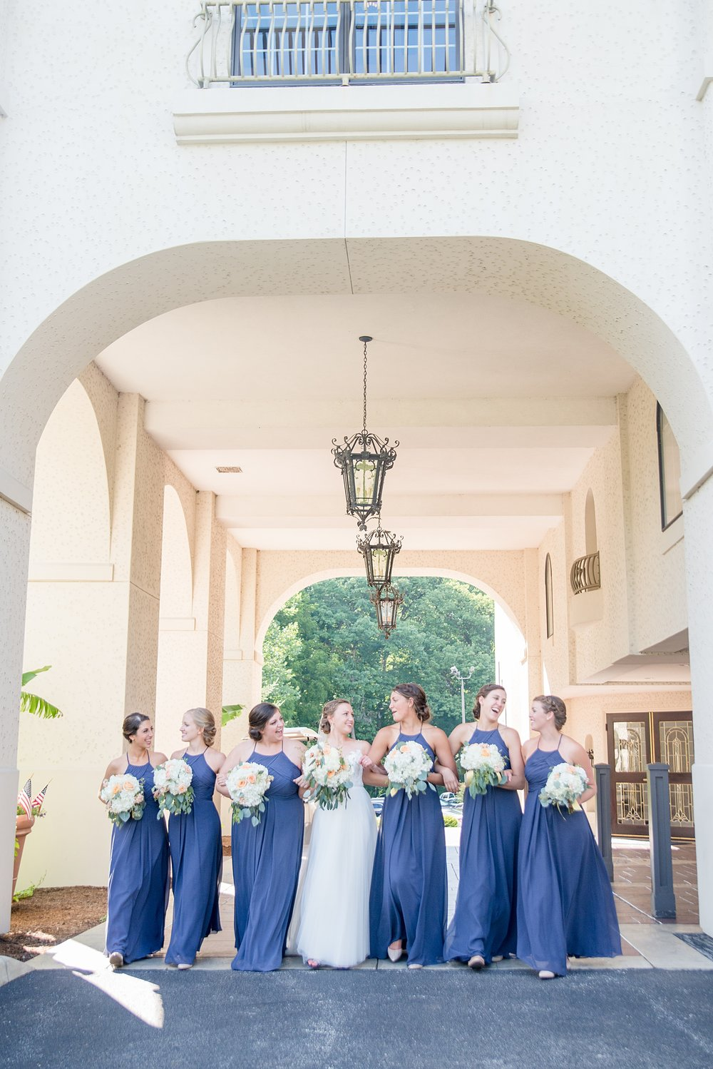 Hillcrest Country Club Wedding  | Indiana Wedding Venues | Navy Bridesmaid Dresses