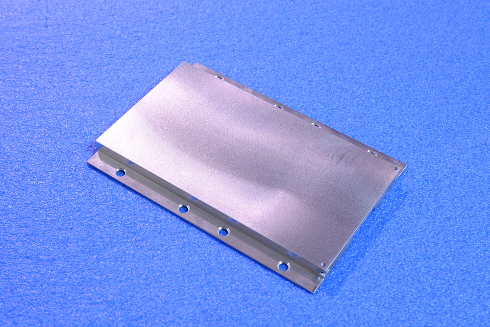 OHP heat sink for conduction cooled military circuit card assembly