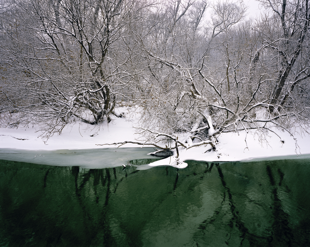 Winter Reflection, Lower Don (2004)