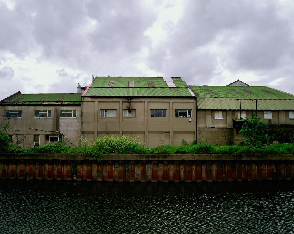 Derelict Factory, Lee Navigation