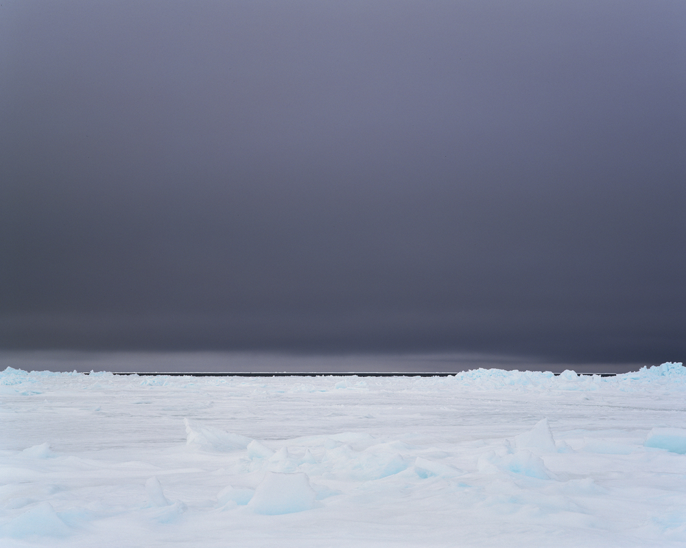 Passing Storm on the Ice Floe (2007)