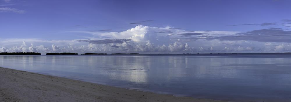 Arno Atoll Lagoon - Panorama