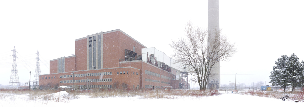 Hearn Power Plant, Winter