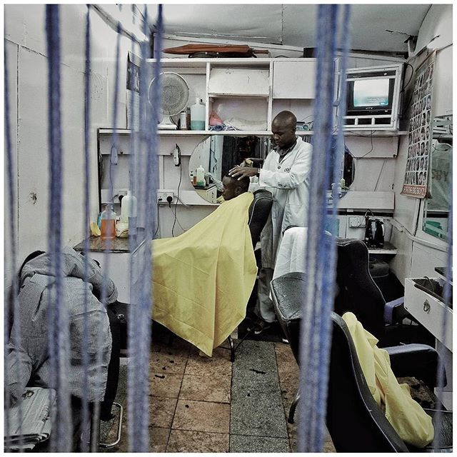 "Reposting @storitellah:⠀ ""The barbershop. Photo by © Bryan Jaybee @Storitellah #storitellah #storitellahdiaries #tellahtales ⠀ Want to support 💪🏾 african photographers 📷 ? You can. CARING IS GOOD. Follow the artist and 👉🏽 @moadiga  #fineartphotography #africancontemporaryart #contemporaryafricanart #africanart #contemporaryart #photography #africanphotography #artphotography #moadiga #paris #brussels  Moadiga promotes African photography for free. No commercialization done without artist and gallery agreement."