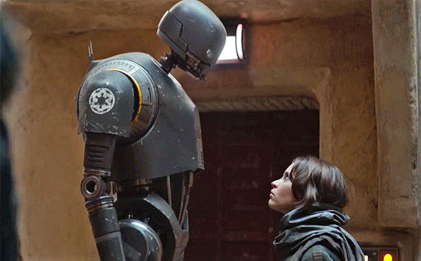 Rogue One: A Star Wars Story   introduces one of the most lovable droids in the series.