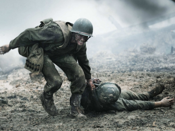 It's not WHAT   Hacksaw Ridge   says that bothers me, but HOW it says it.