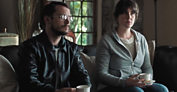 Elijah Wood  is a beast in this movie. A BEAST. The Jeffrey Dahmer glasses are just the tip of the iceberg.