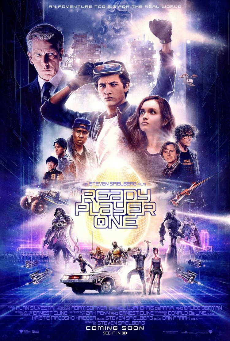 Aug 27 Movie Review : Ready Player One (2018)