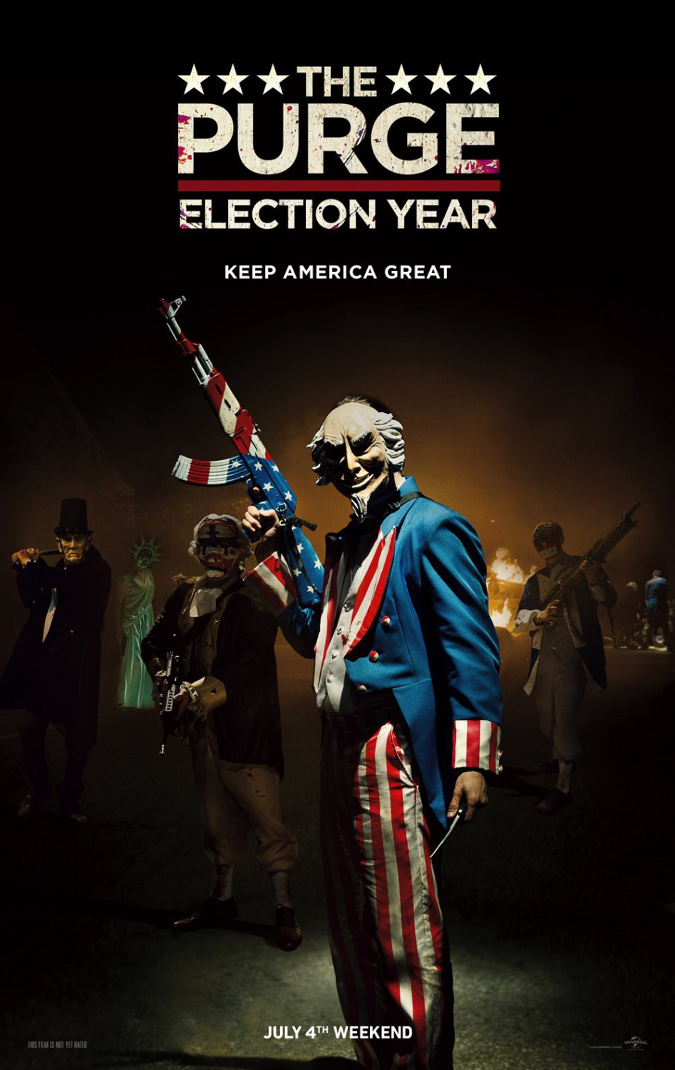 Movie Review : The Purge: Election Year (2016) — Dead End Follies
